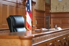 Frank Walker Law Courtroom Pic